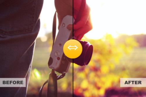 Xara Widget Comparison Slider Preview