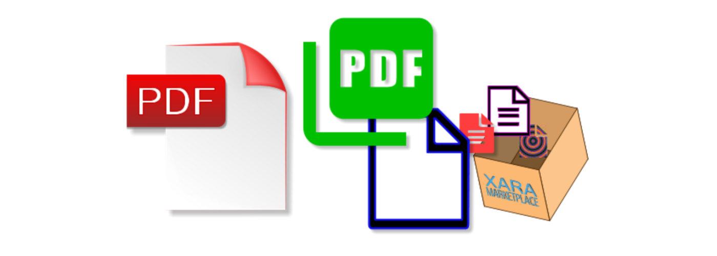 Sample PDF Icon Designs